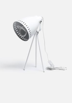 Nolden Bros Retro Tripod Lamp Lighting Metal