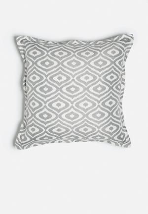 Grey Gardens Olives Cushion Polyester / Cotton Mix