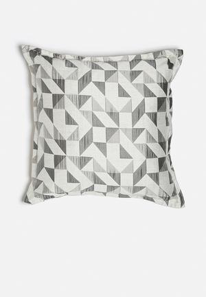 Grey Gardens Stained Glass Cushion Polyester / Cotton Mix