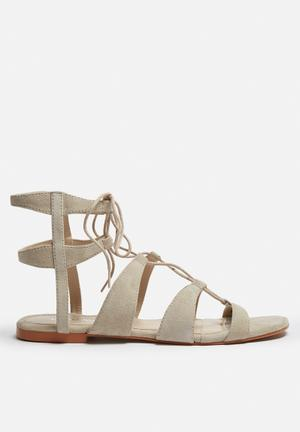 Vero Moda Mille Leather Sandal Sand