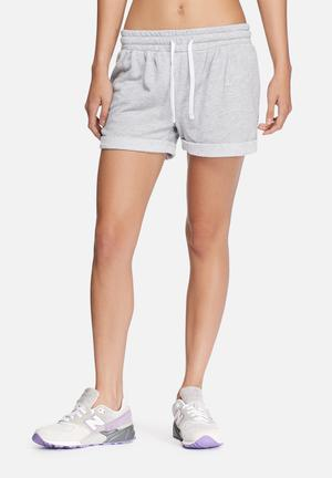 ONLY Play Viola Sweat Shorts Bottoms Light Grey Melange