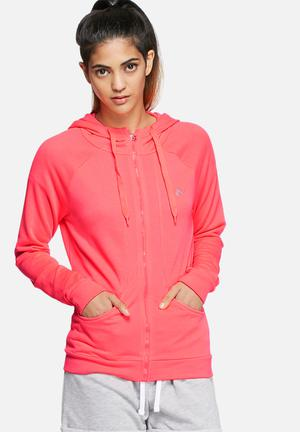ONLY Play Josette Hooded Sweat Hoodies & Jackets Hot Pink