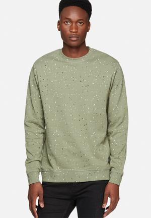 Only & Sons Crane Sweat Hoodies & Sweatshirts Green