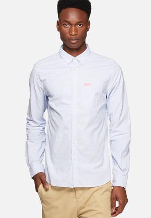 Superdry. London Shirt Blue