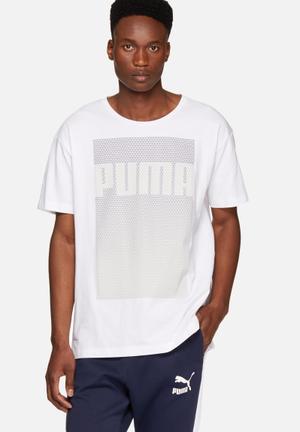 PUMA Evo Tee T-Shirts White