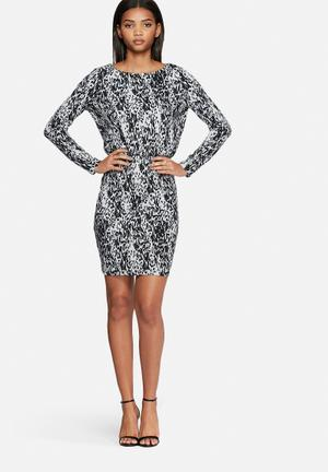 Vero Moda Seal Dress Formal White & Black