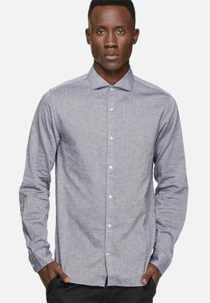 Jack & Jones Premium Lynn Slim Shirt Blue