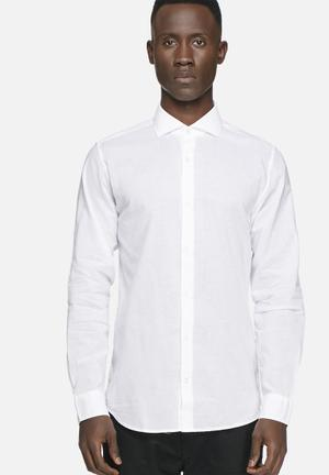 Jack & Jones Premium Lynn Slim Shirt White
