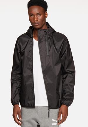 PUMA Evo Windbreaker Hoodies & Sweatshirts Black