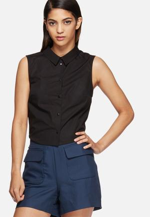 Vero Moda Kayla Cut-out Shirt Black
