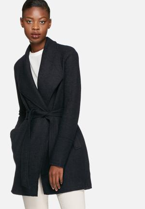 Vero Moda Filippa Wool Coat Jackets Navy