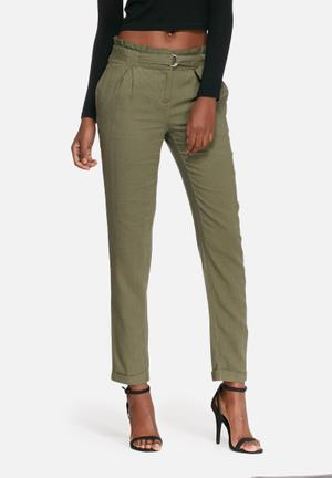Vero Moda Lanna Pants Trousers Olive