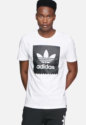 Adidas Originals Solid Blackbird Tee T-Shirts White