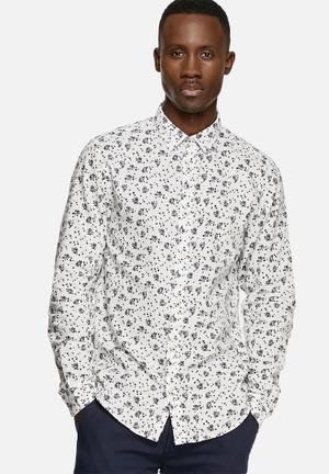 Jack & Jones Premium Willis Slim Shirt  White