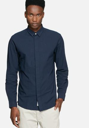 Jack & Jones CORE Cole Slim Shirt Navy