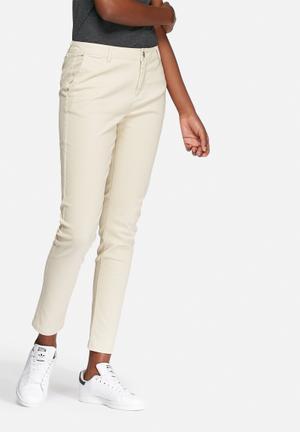 VILA Clira Pants Trousers Stone