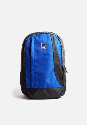 PUMA Sole Backpack Bags & Wallets Blue & Black