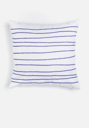 Sixth Floor Plateau Printed Cushion Cotton Twill