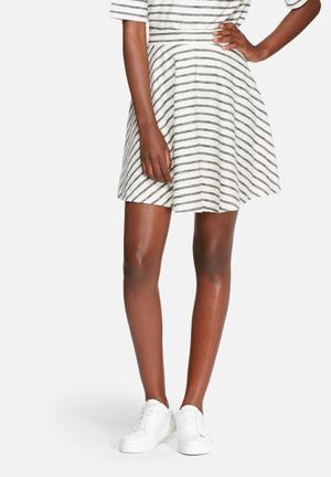 ADPT. Buzz Skirt White & Blue