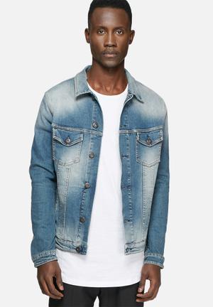 Jack & Jones Jeans Intelligence Alvin Jacket Blue