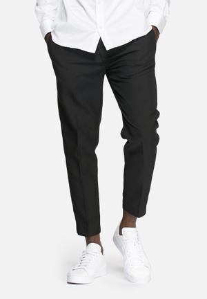 Jack & Jones Originals Ace Cropped Pants Black