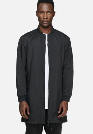 Only & Sons Lance Long Bomber Jackets Black
