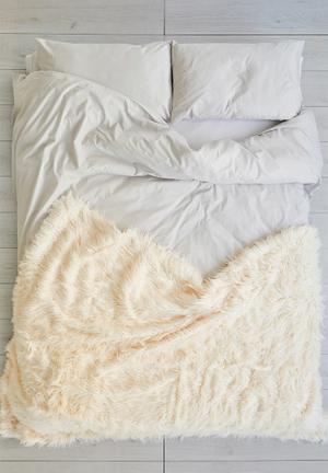 Sixth Floor Quiney Throw Bedding Cream
