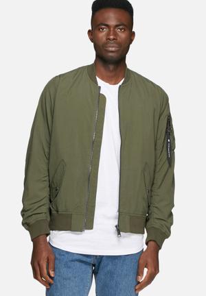 Carhartt WIP Adams Jacket Olive Green