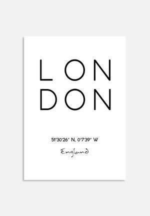 Monica Pop London Coordinates Art
