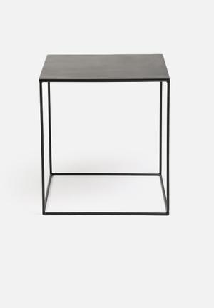 Sixth Floor Cube Table Large Metal