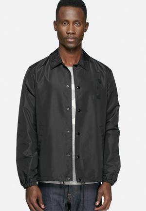 Edwin Coach Jacket Black