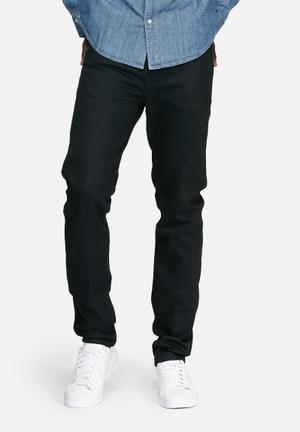 Edwin ED-80 Slim Tapered Selvedge Jeans Black