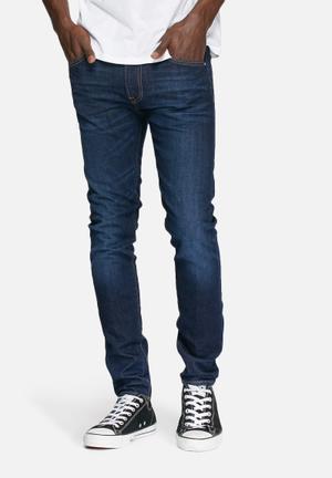 Edwin  Ed-85 Slim Tapered Jeans Blue