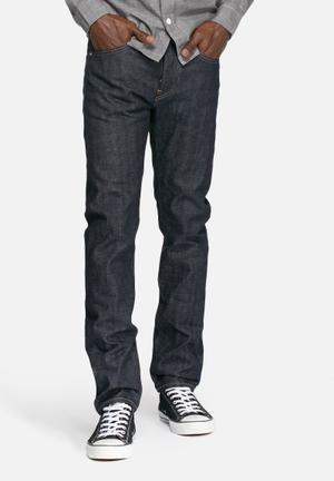 Edwin Ed-80 Slim Tapered Selvedge Jeans Blue