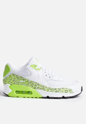 Nike Air Max 90 Premium Sneakers White / Ghost Green