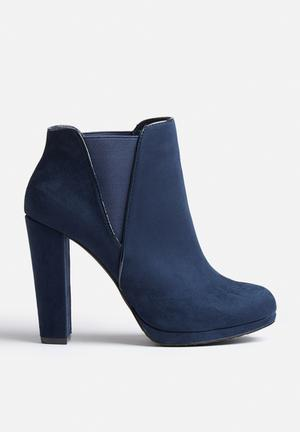 ONLY Blair Ankle Boot Navy