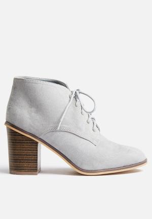 Qupid Varsity Boots Grey