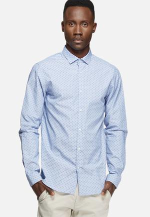 Jack & Jones Premium Rack Slim Shirt Blue