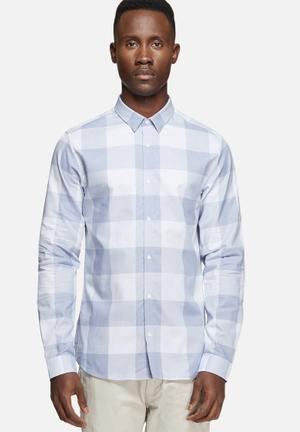 Jack & Jones Premium Andy Slim Shirt Blue