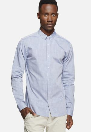 Jack & Jones Premium Andy Slim Shirt Blue