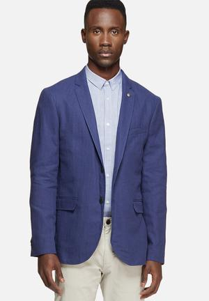 Jack & Jones Premium Harry Slim Blazer Jackets & Coats Navy