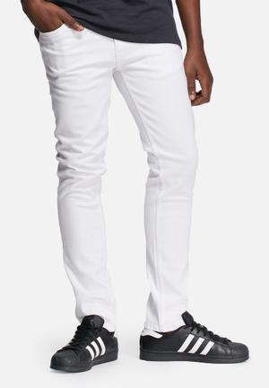 ADPT. Skinny Jeans AKM 1041 White