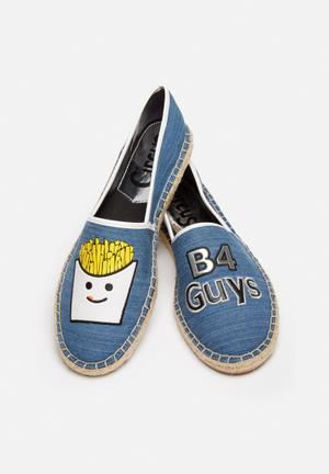 Circus By Sam Edelman Fries Before Guys Pumps & Flats Blue