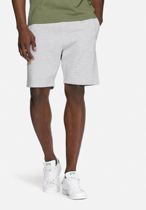 Basicthread Basic Sweat Shorts Grey Melange