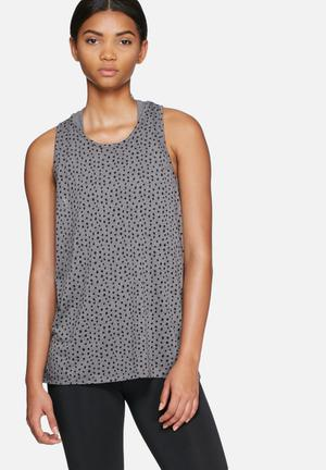 ONLY Play Raven Loose Top T-Shirts Charcoal & Black