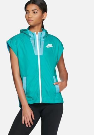 Nike Tech Hypermesh Vest Hoodies & Jackets Blue