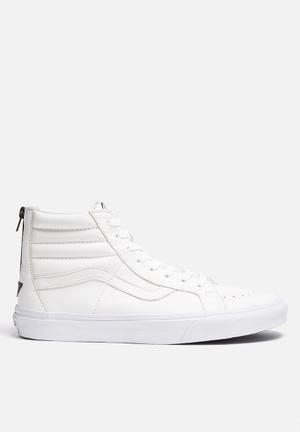 Vans SK8-Hi Reissue Zip Sneakers True White / Black
