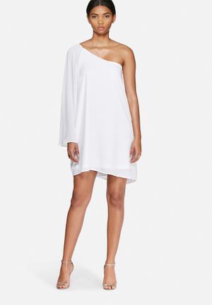 Lucana one-shoulder dress