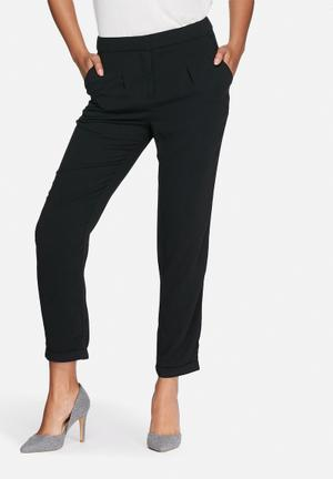 Vero Moda Ea Loose Pants Trousers Black