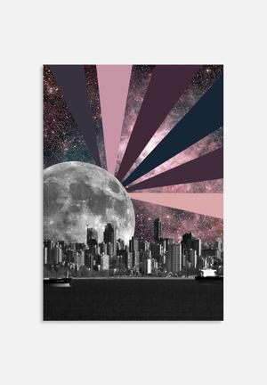 Sixth Floor Moonrise Art